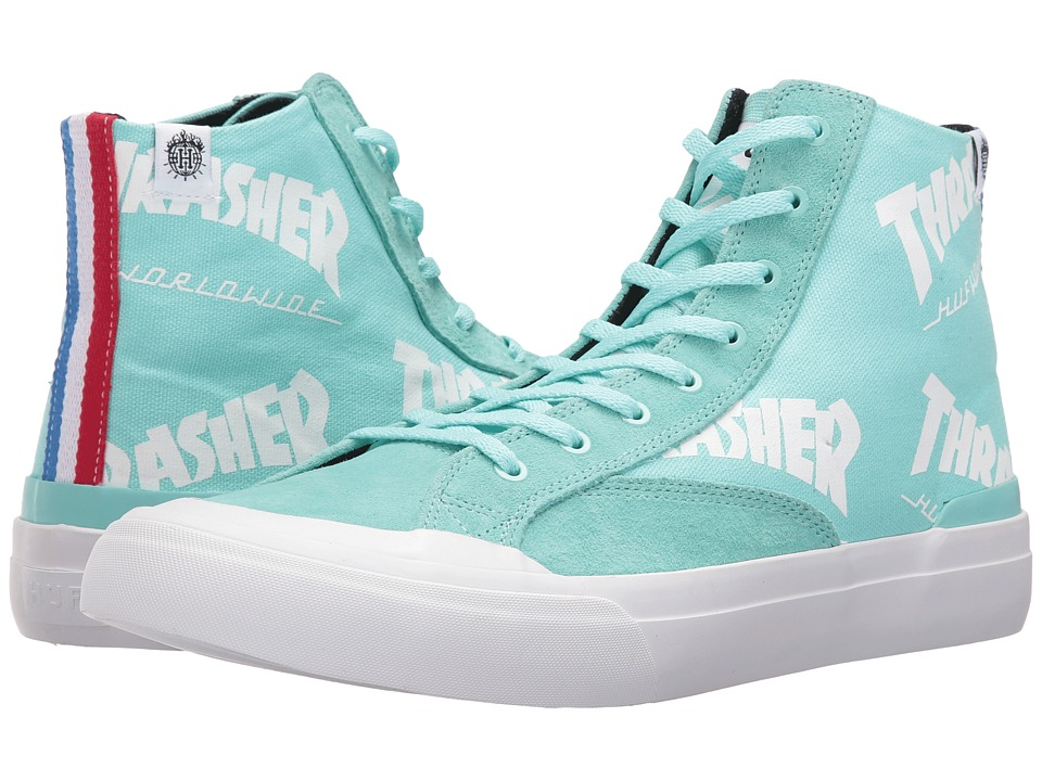 HUF - Huf X Thrasher Classic Hi (Mint) Men's Skate Shoes