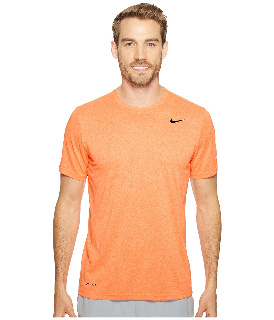 Nike - Legend 2.0 Short Sleeve Tee (Tart/Sunset Glow/Black) Men's T Shirt