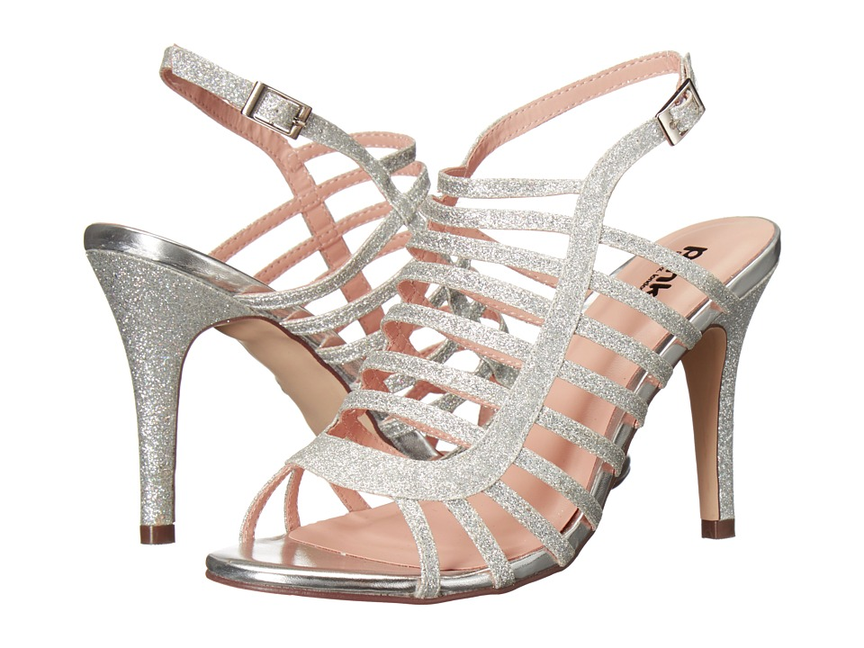 Paradox London Pink - Skylar (Silver) Women's Sandals