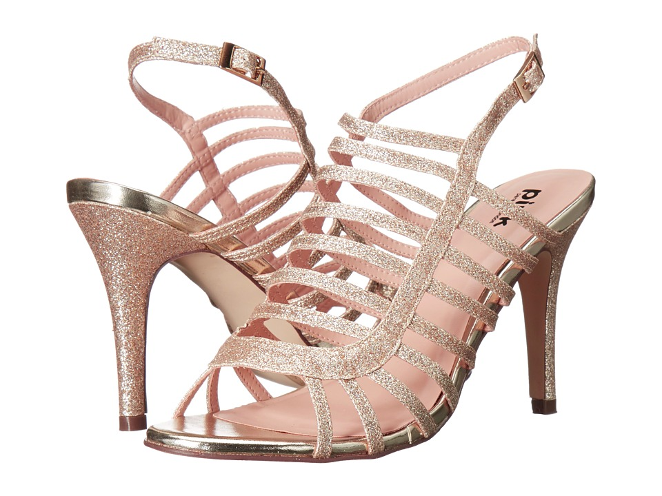Paradox London Pink - Skylar (Gold) Women's Sandals