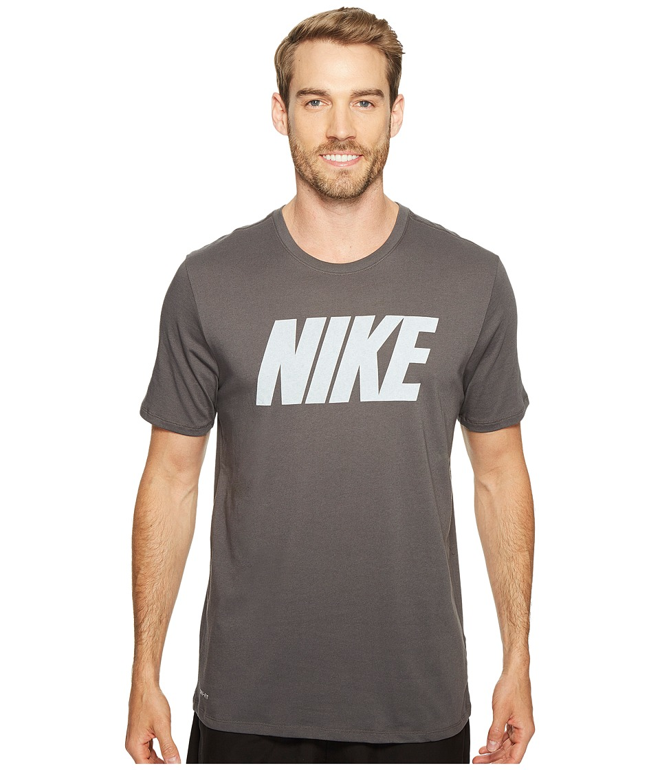 Nike - Dry Block Training T-Shirt (Midnight Fog/White) Men's T Shirt