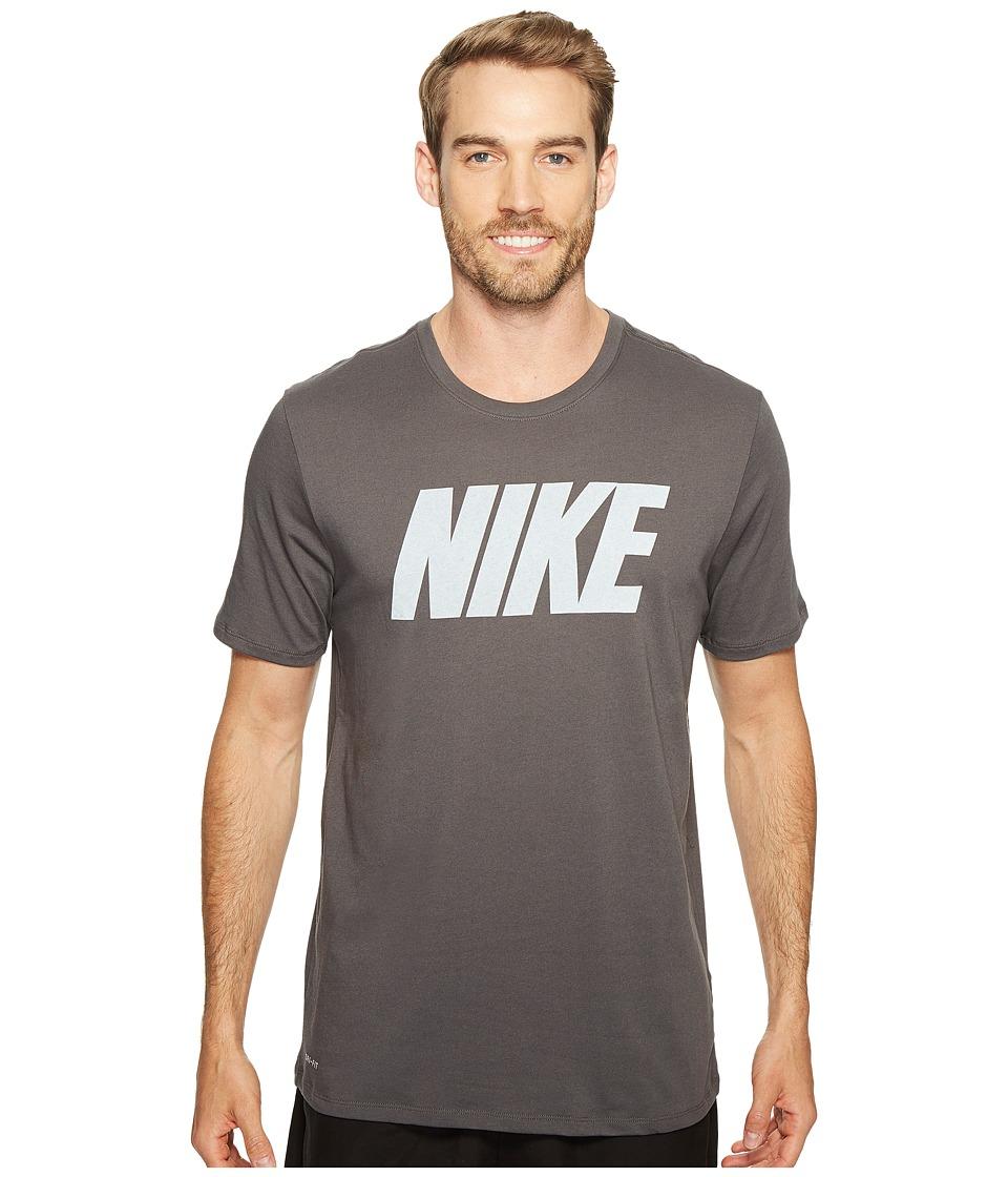 Nike Dry Block Training T-Shirt (Midnight Fog/White) Men