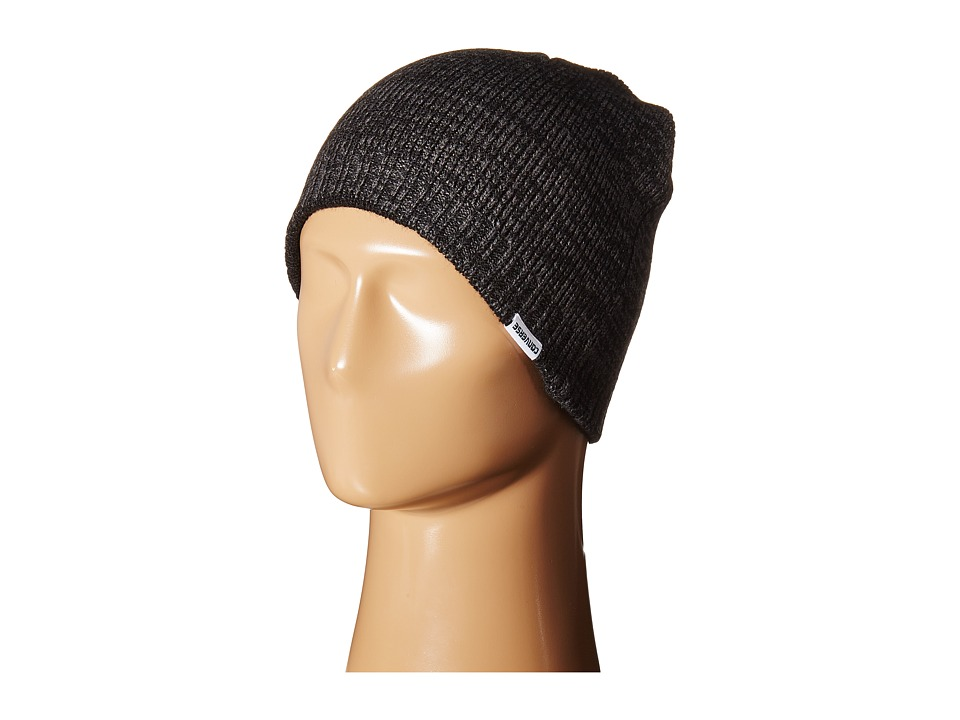 Converse - Twisted Knit Beanie (Converse Black) Beanies