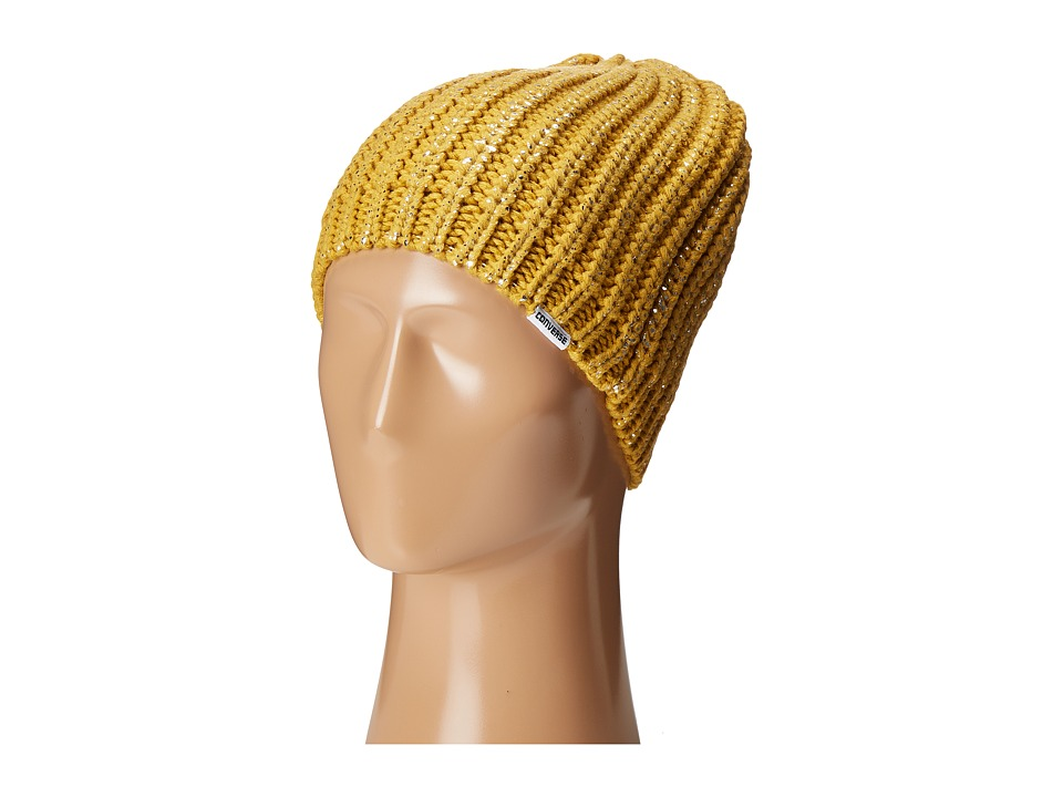 Converse - Metallic Coated Beanie (Gold Metallic) Beanies