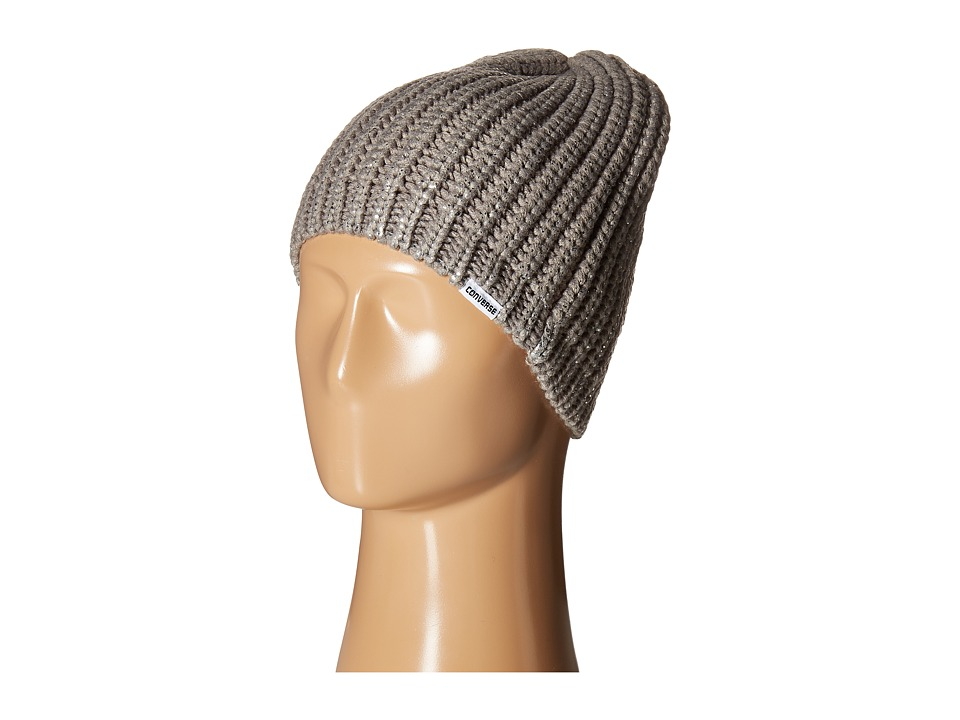 Converse - Metallic Coated Beanie (Metallic Silver) Beanies