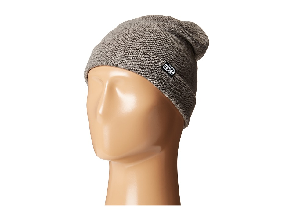 Converse - Solid Slouch Beanie (Converse Charcoal) Beanies