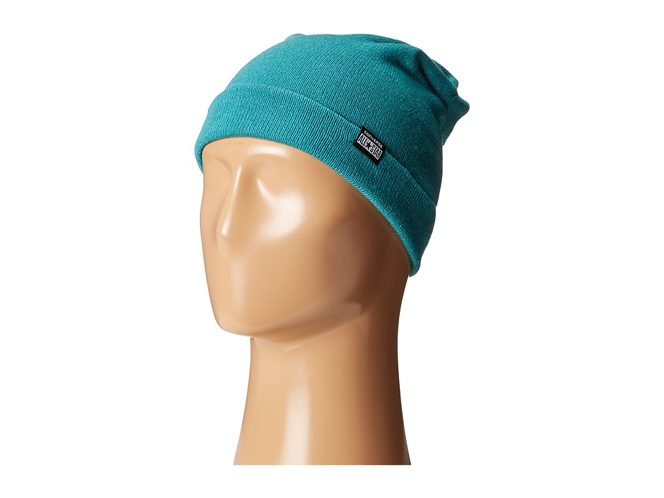 Converse - Solid Slouch Beanie (Teal) Beanies