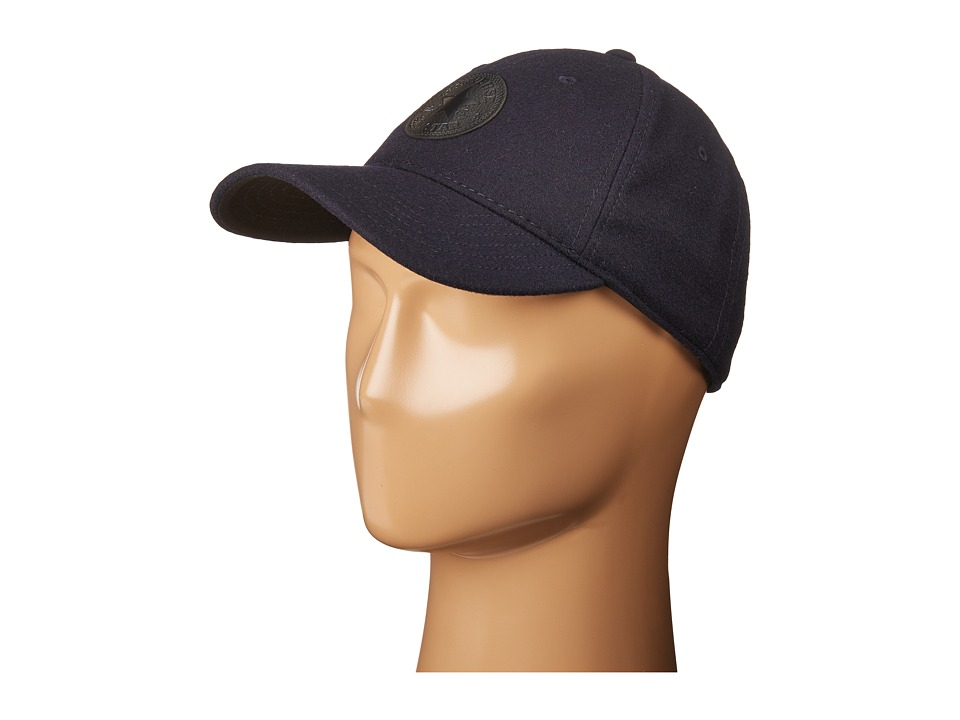 Converse - Core Wool Baseball Cap (Converse Navy) Baseball Caps