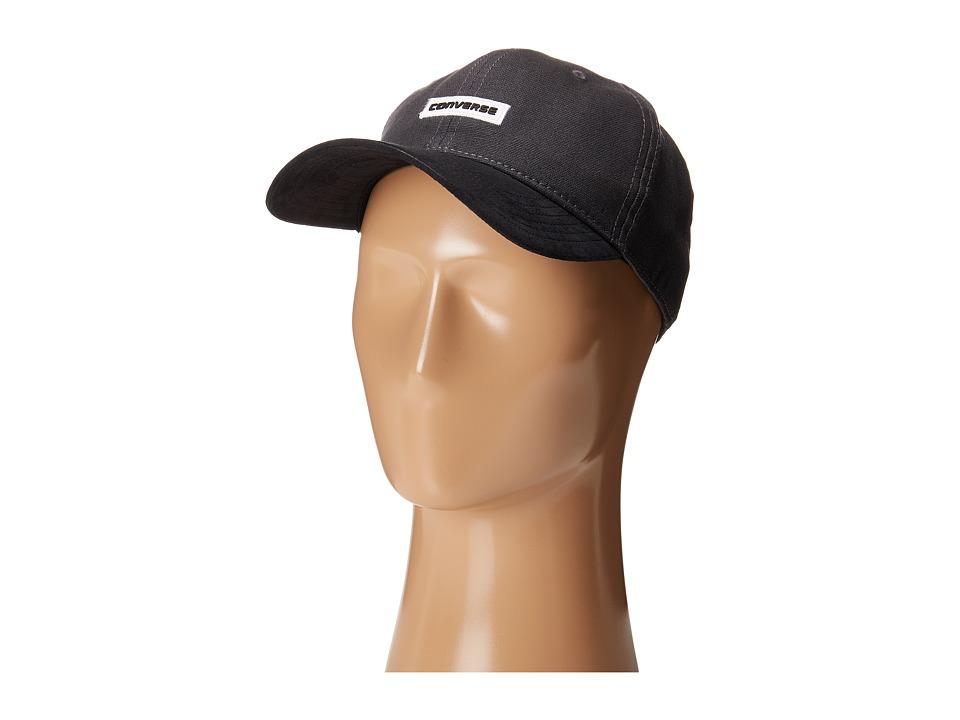 Converse - Suede Precurve Baseball Cap (Almost Black) Baseball Caps