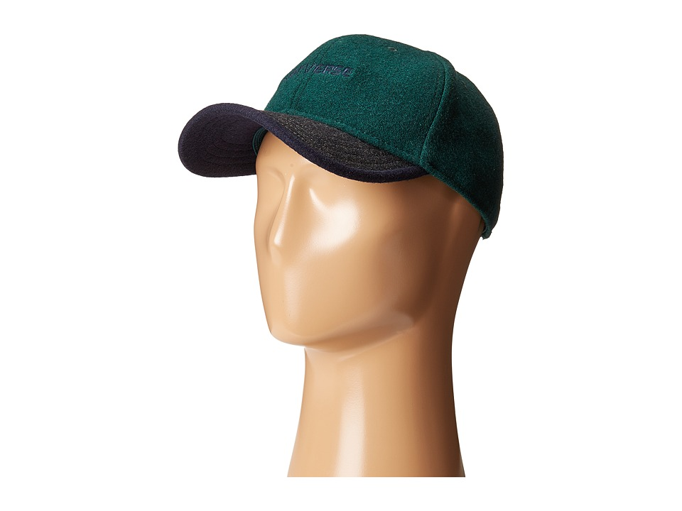 Converse - Wool Color Block Deconstructed Cap (Succulent Green) Caps