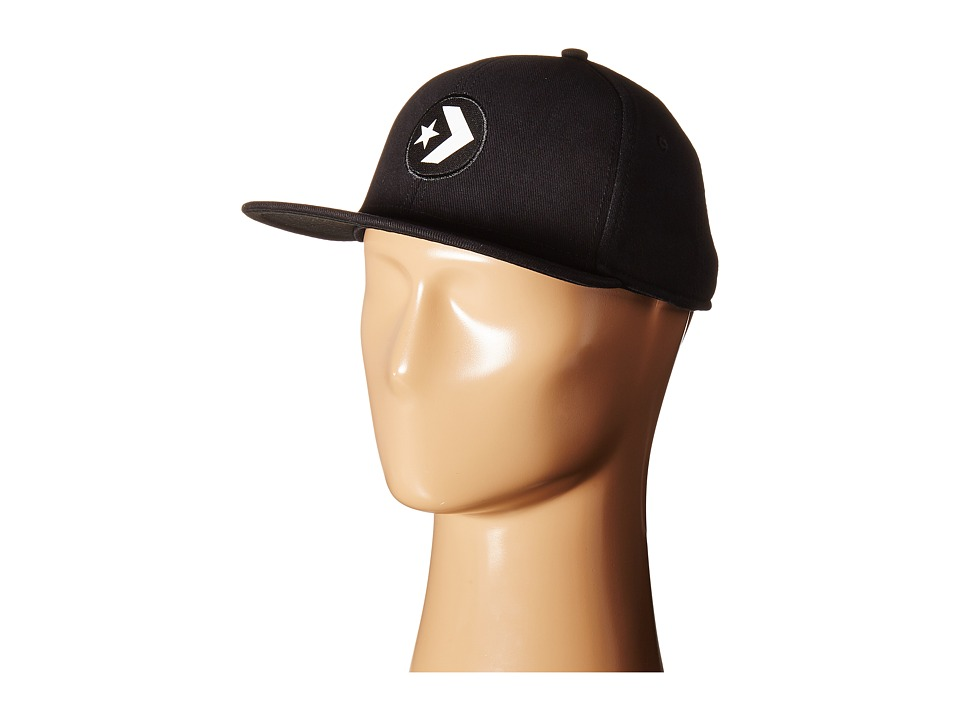 Converse - Cons Color Block Snapback Cap (Converse Black) Caps