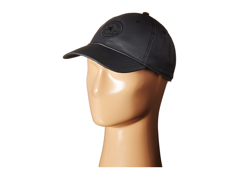 Converse - Core Metallic Baseball Cap (Black Pearl) Baseball Caps