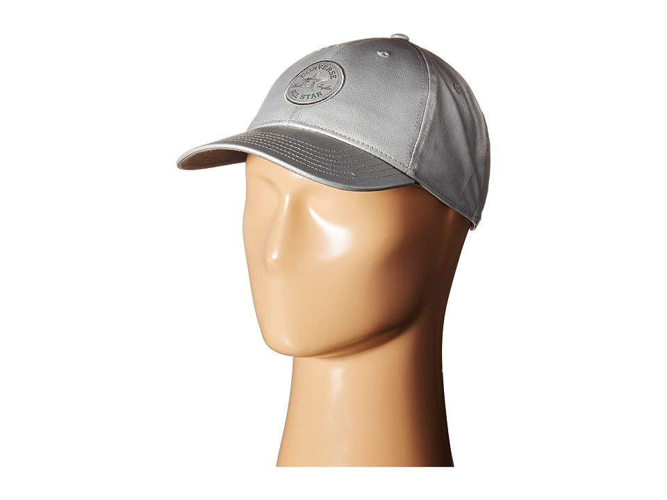 Converse - Core Metallic Baseball Cap (Pure Silver) Baseball Caps