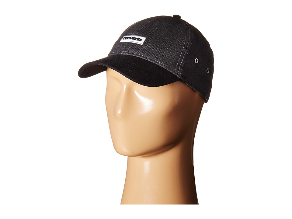 Converse - Core Shield/Suede Baseball Cap (Almost Black) Baseball Caps