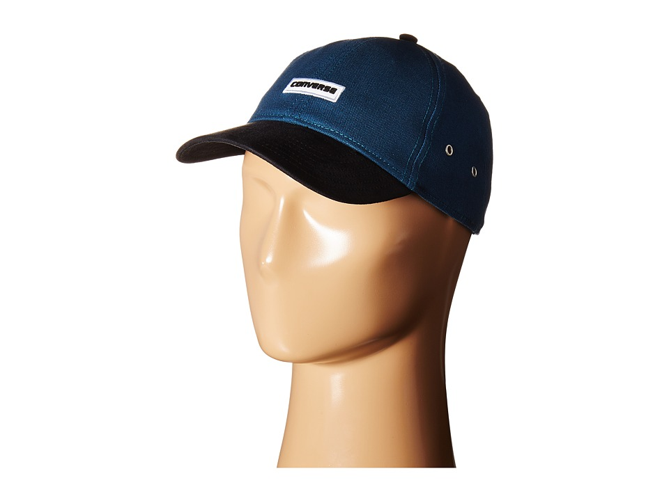 Converse - Core Shield/Suede Baseball Cap (Blue Fir) Baseball Caps