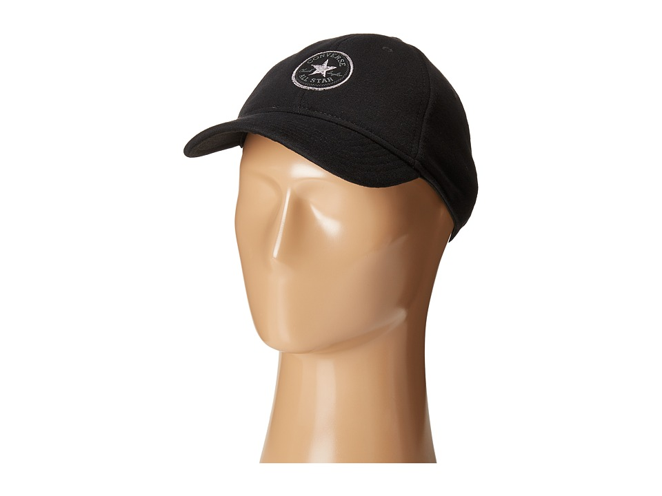 Converse - Fleece Reflective Deconstructed Cap (Converse Black) Caps