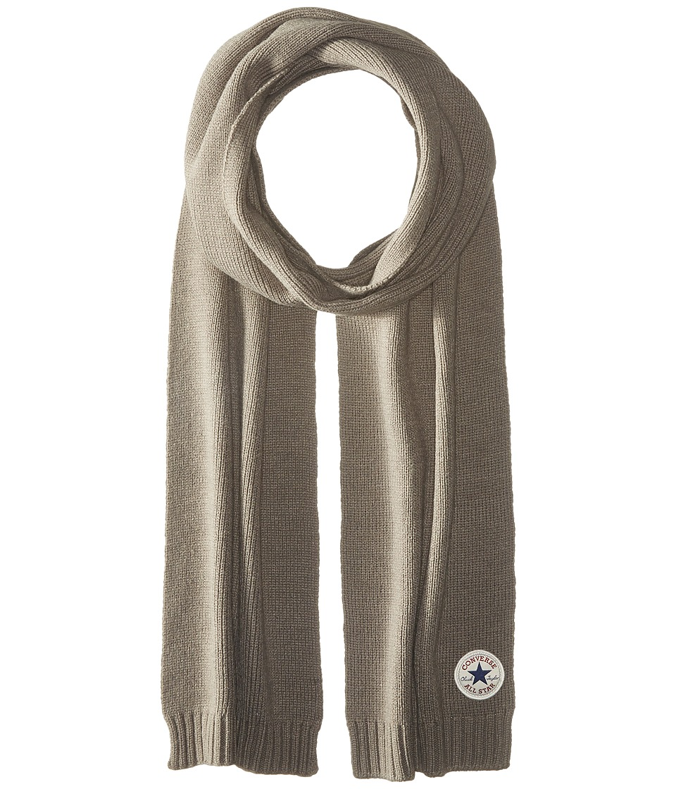 Converse - Core Knit Scarf (Charcoal) Scarves