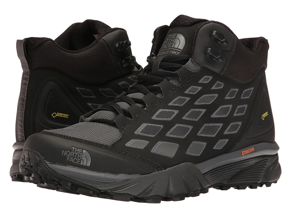 The North Face - Endurus Hike Mid GTX(r) (TNF Black/Dark Shadow Grey) Men's Shoes