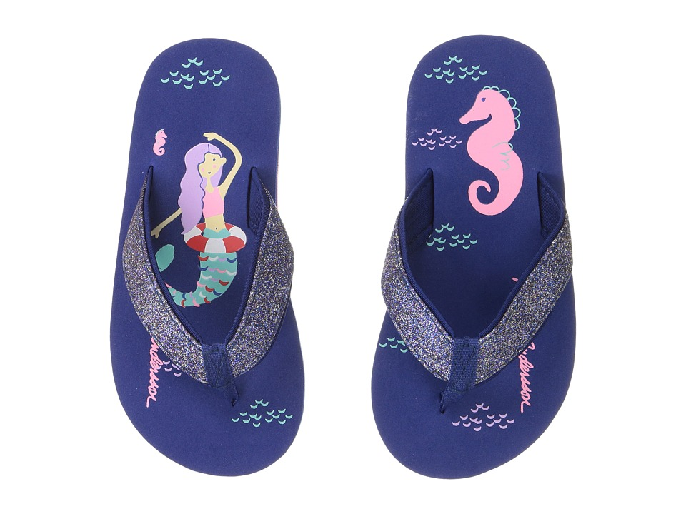 Hanna Andersson - Art (Toddler/Little Kid/Big Kid) (Deep Blue Sea) Girls Shoes
