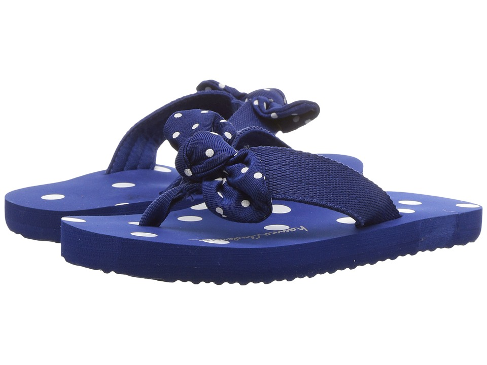 Hanna Andersson - Dot-FF II (Toddler/Little Kid/Big Kid) (Deep Blue Sea) Girls Shoes