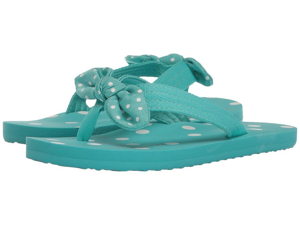 Hanna Andersson - Dot-FF II (Toddler/Little Kid/Big Kid) (Poolside) Girls Shoes