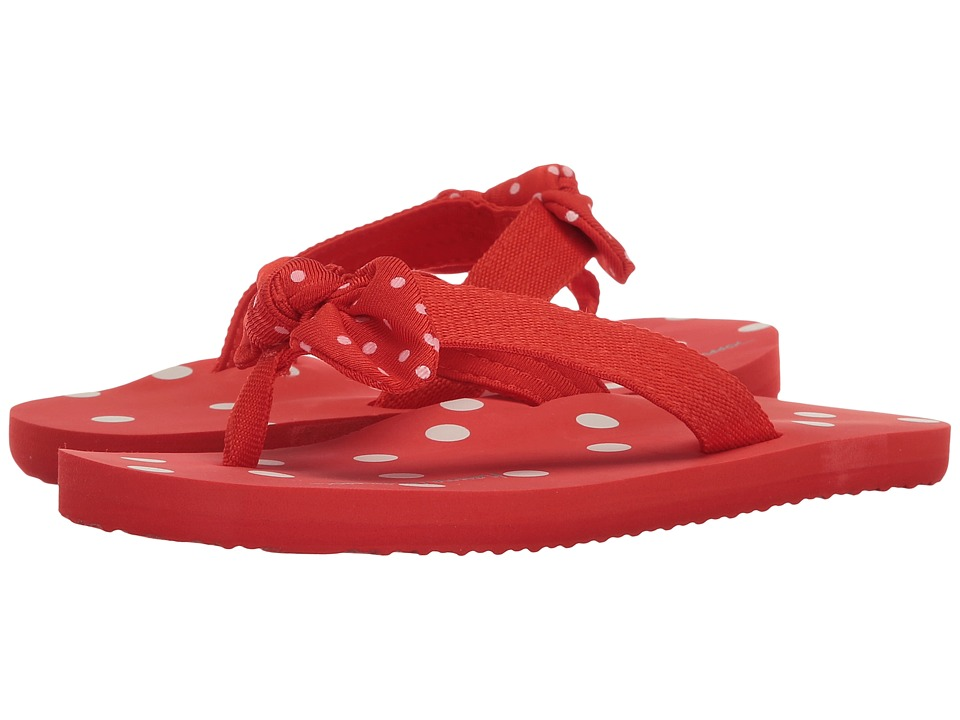 Hanna Andersson - Dot-FF II (Toddler/Little Kid/Big Kid) (Tangy Red) Girls Shoes