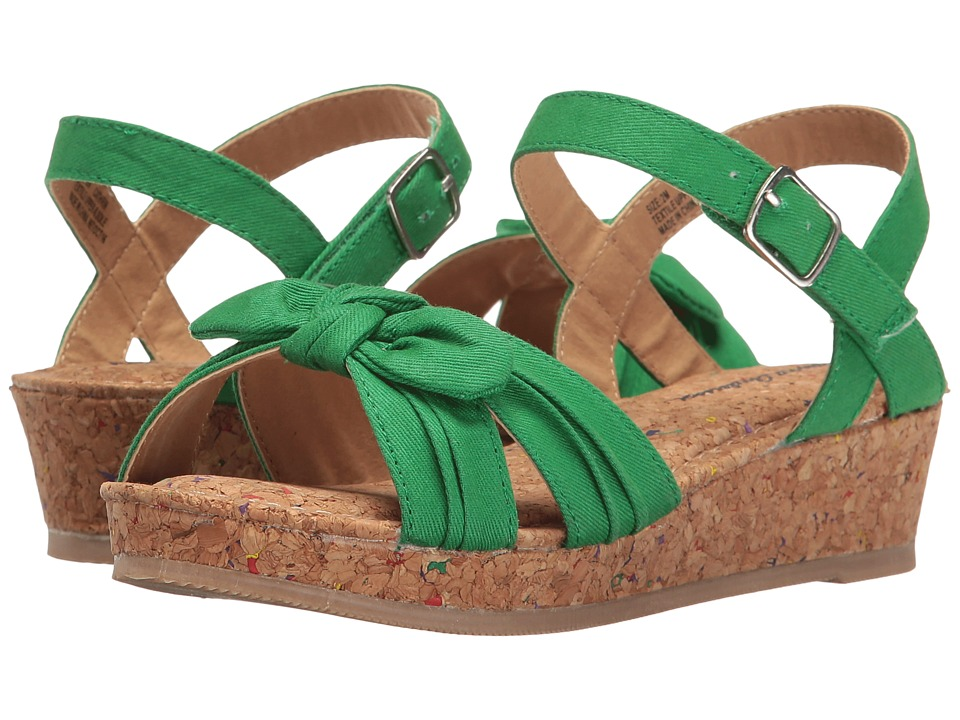 Hanna Andersson - Cathrin (Toddler/Little Kid/Big Kid) (Tall Grass Green) Girls Shoes