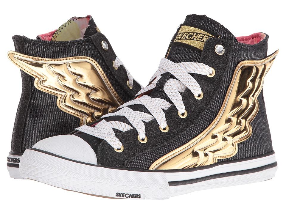 SKECHERS - Utopia - Wing It (Black/Gold) Women's Shoes