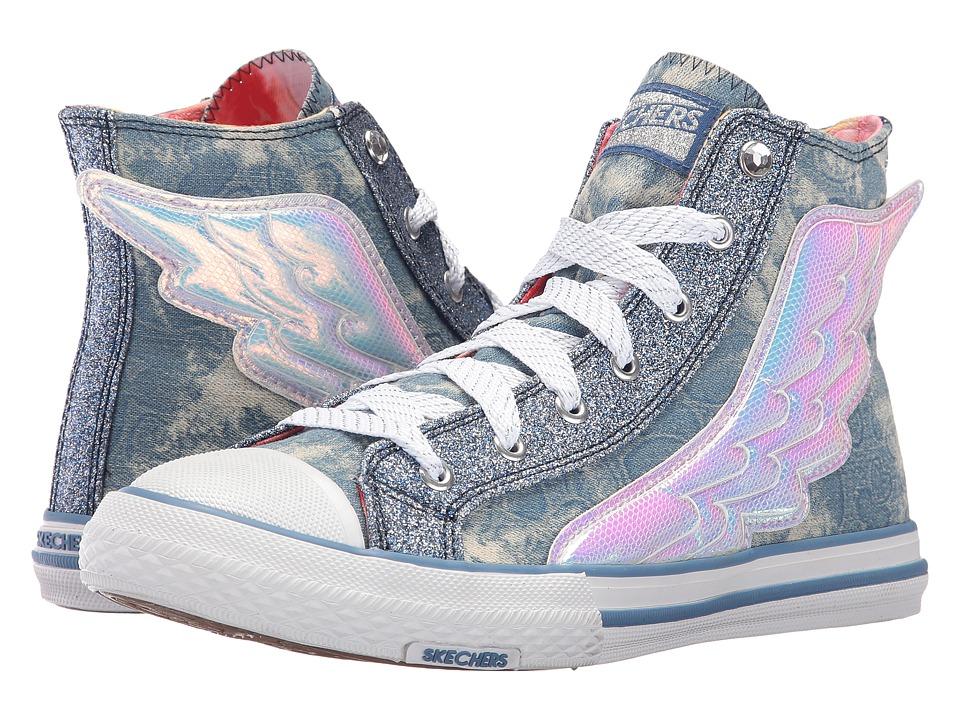 SKECHERS - Utopia - Wing It (Denim) Women's Shoes