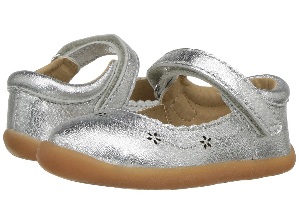 Hanna Andersson - Heidi (Infant/Toddler) (Silver) Girls Shoes