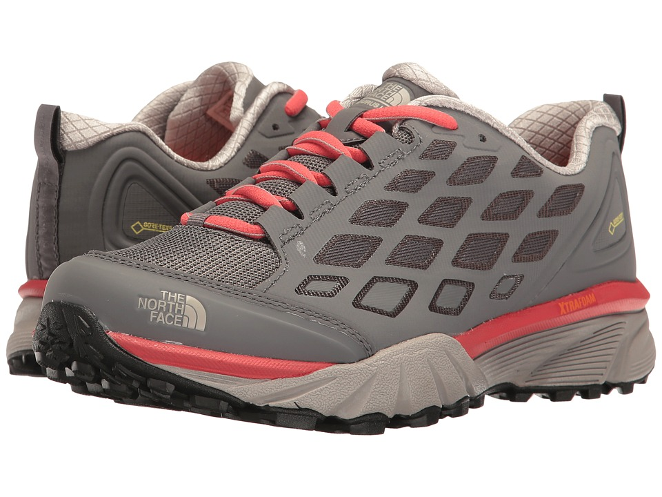 The North Face - Endurus Hike GTX(r) (Smoked Pearl Grey/Cayenne Red) Women's Shoes