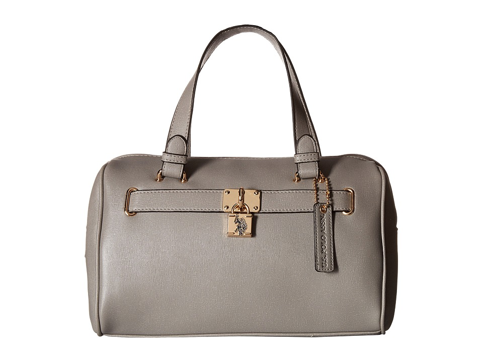 U.S. POLO ASSN. - Robinson Satchel (Grey) Satchel Handbags