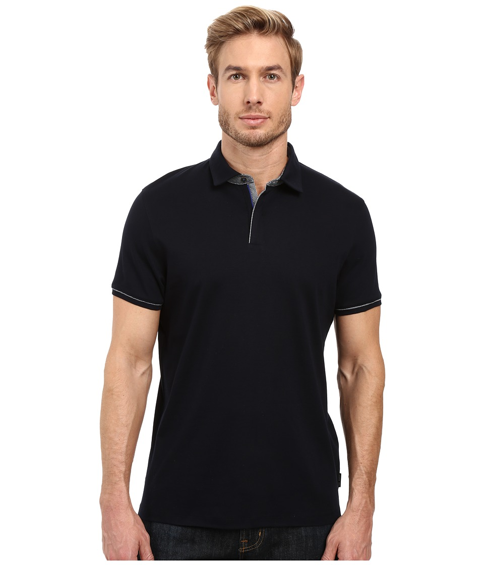 Ted Baker - Sergio (Navy) Men's Short Sleeve Knit