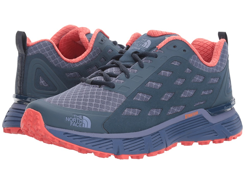 The North Face Endurus TR (Coastal Fjord Blue/Cayenne Red) Women