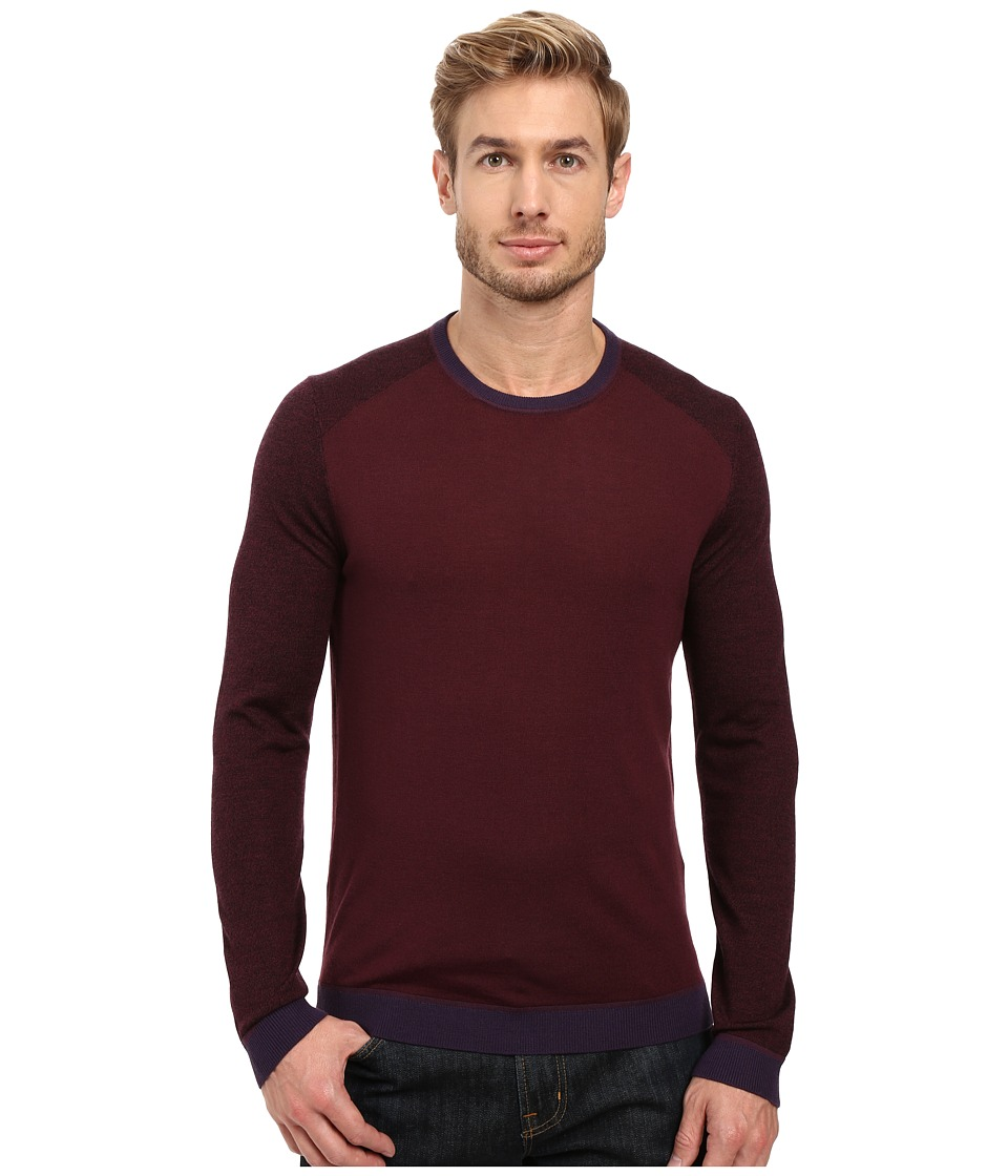 Ted Baker - Cambell (Purple) Men's Long Sleeve Pullover
