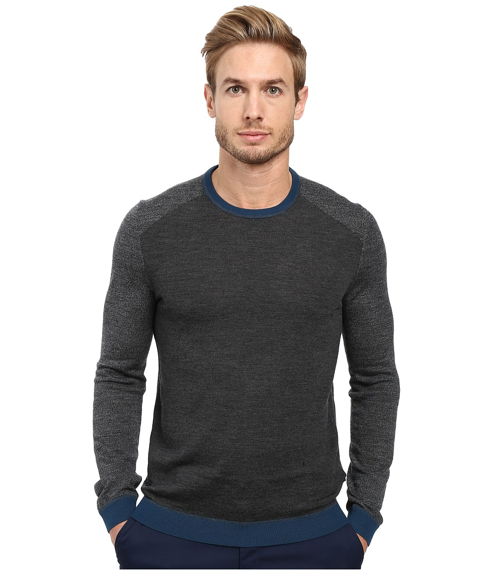 Ted Baker - Cambell (Charcoal) Men's Long Sleeve Pullover