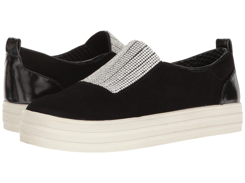 SKECHERS - Double - Dazzle'e (Black) Women's Slip on Shoes