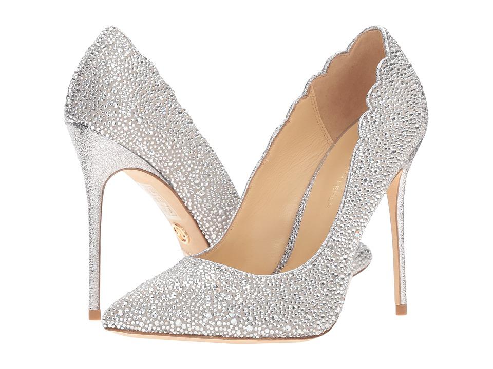 JL by Judith Leiber - Jasmine (Grey Suede) Women's Shoes