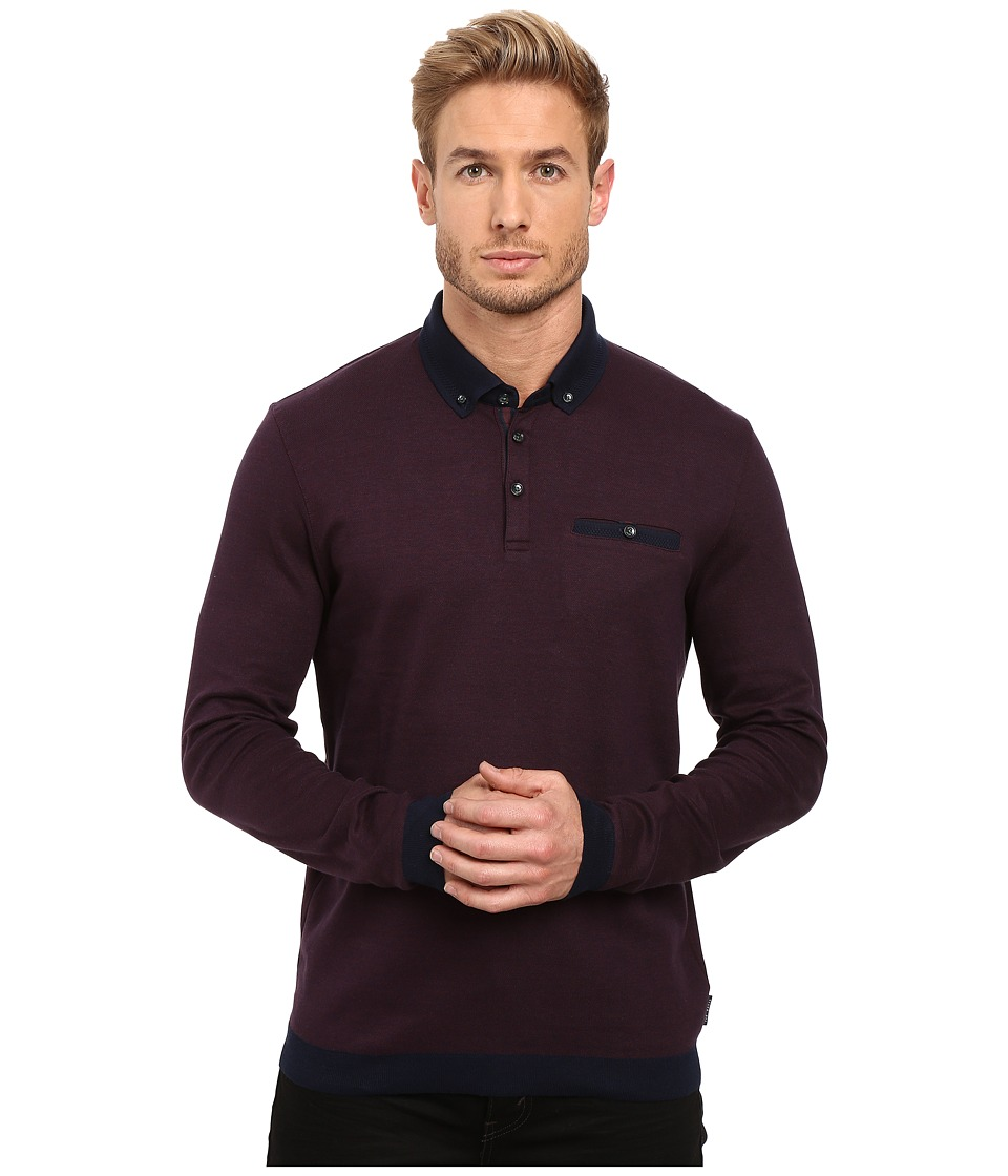 Ted Baker - Ronaldo (Purple) Men's Clothing