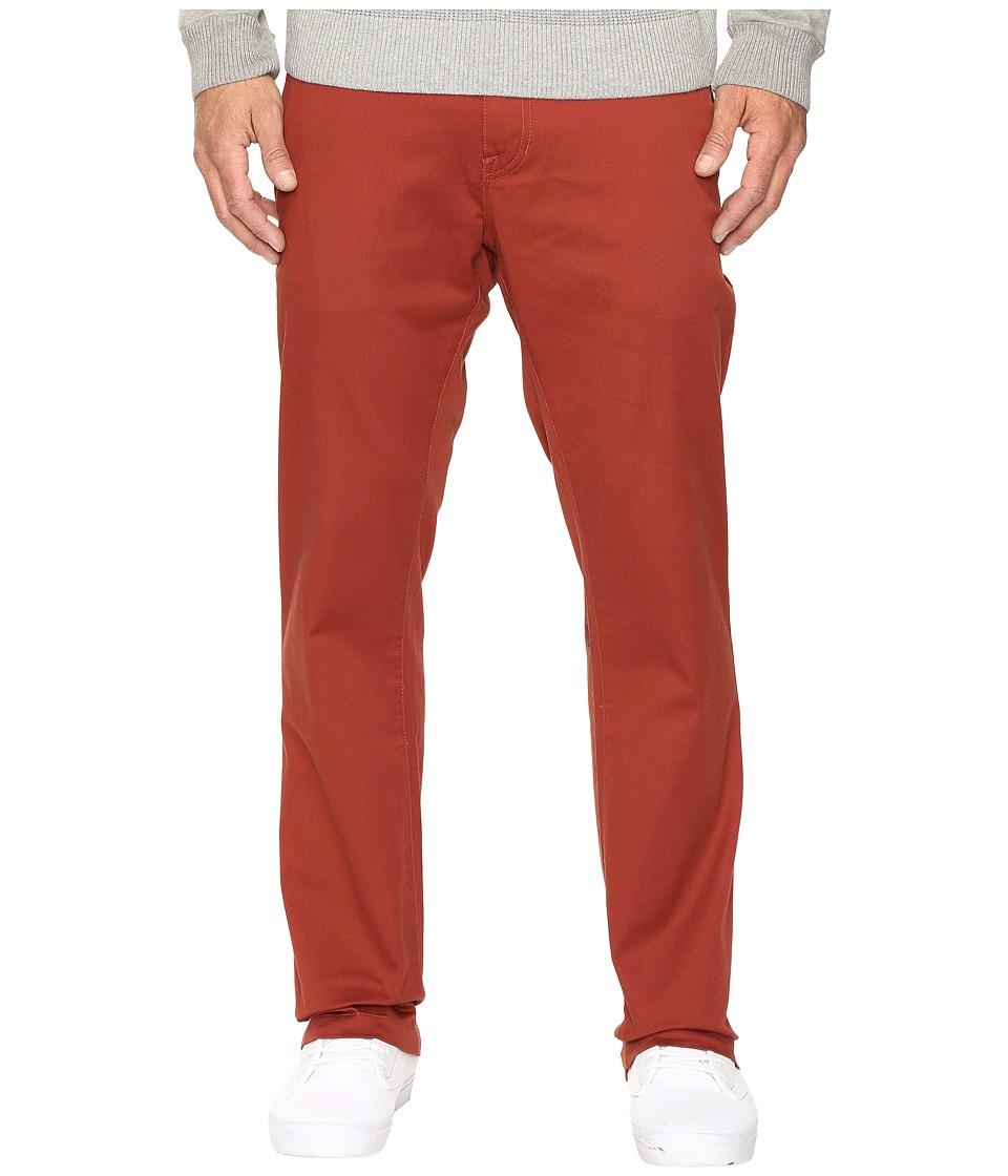 Volcom - Frickin Modern Stretch Chino (Dark Clay) Men's Casual Pants