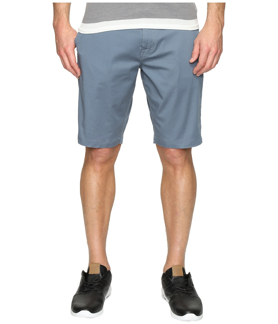 Volcom - Frickin Modern Stretch Chino Shorts (Ash Blue) Men's Shorts