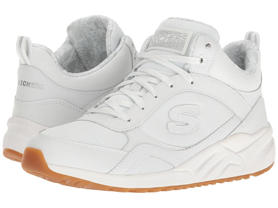 SKECHERS - OG 95 - High Stepper (White) Women's Lace up casual Shoes