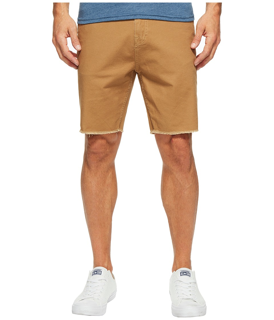 Volcom VSM Atwell Shorts (Burnt Khaki) Men