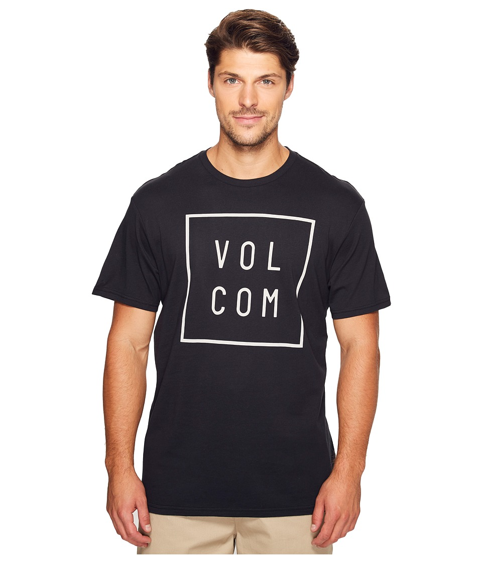 Volcom - Flagg Short Sleeve T-Shirt (Black) Men's T Shirt
