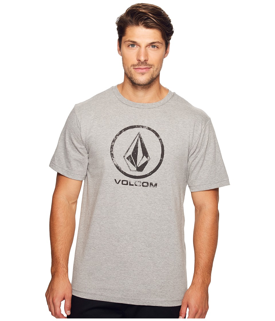 Volcom - Lino Stone T-Shirt (Heather Grey) Men's T Shirt