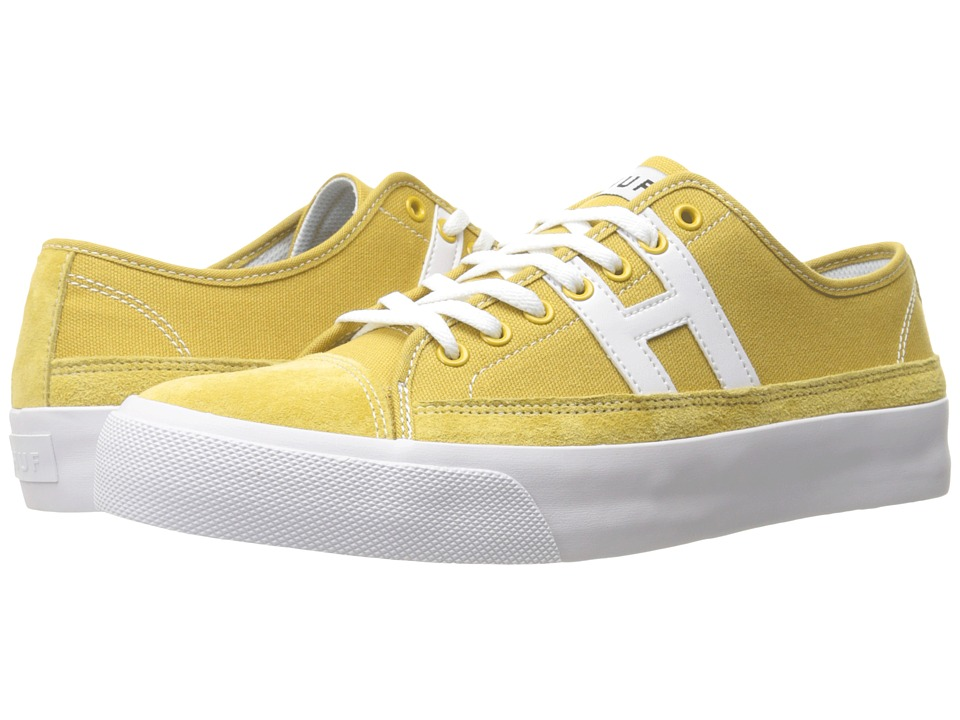 HUF - Hupper 2 Lo (Mustard) Men's Skate Shoes
