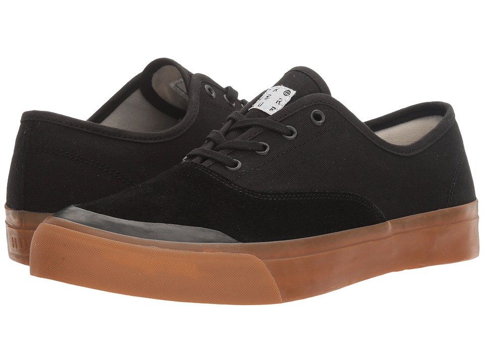 HUF - Cromer (Black/Gum) Men's Skate Shoes