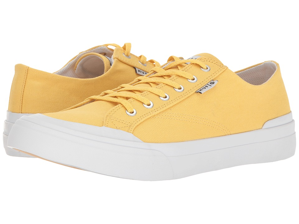HUF - Classic Lo Ess TX (Maize) Men's Skate Shoes