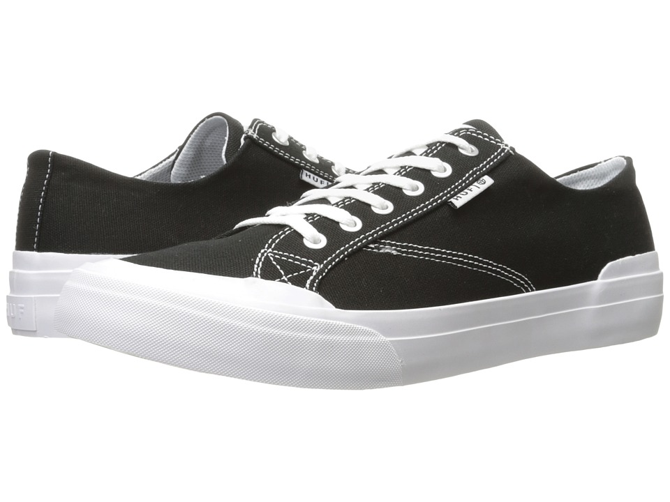 HUF - Classic Lo Ess TX (Black 1) Men's Skate Shoes