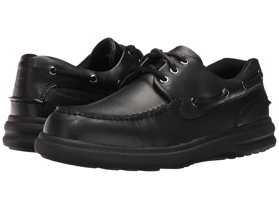 Hush Puppies - Port (Black) Men's Shoes